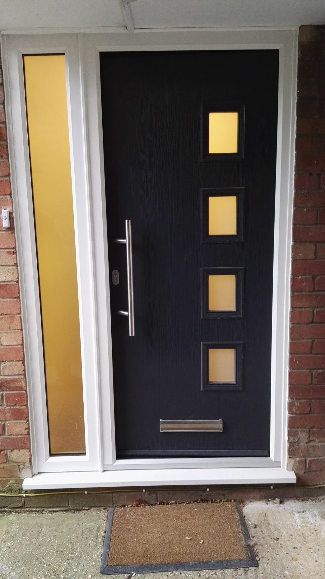 Contemporary modern door