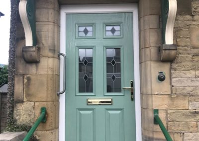 Traditional composite door