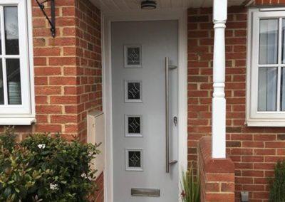 Modern composite door