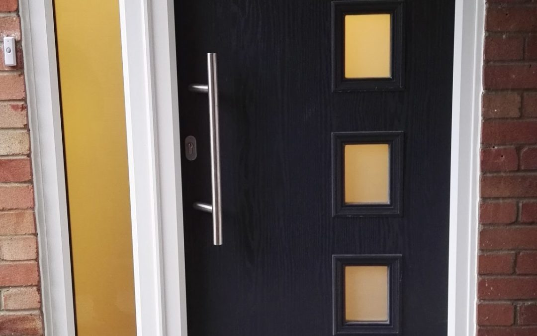 Contemporary modern door