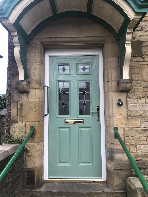 Traditional composite door